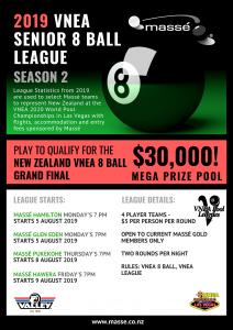 2019 VNEA Senior 8 Ball League - Season 2 - Masse