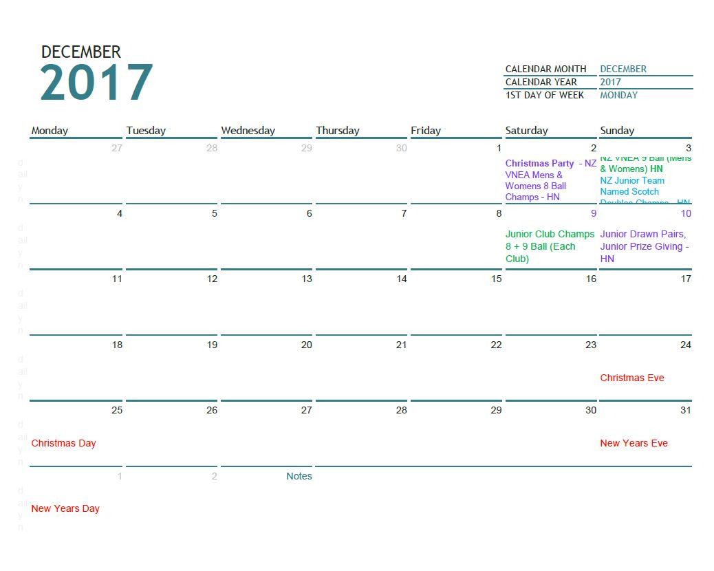 December 2017 updated