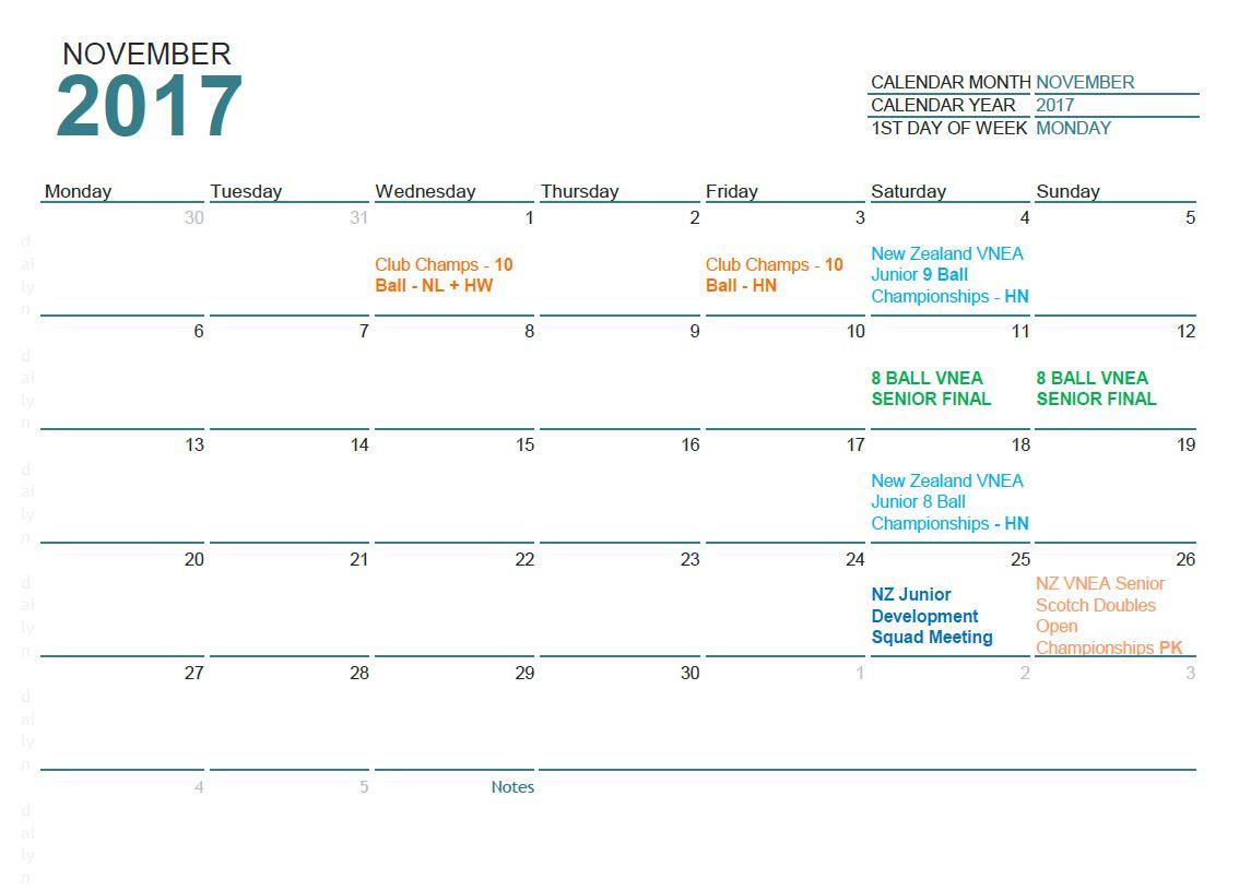 November 2017 updated