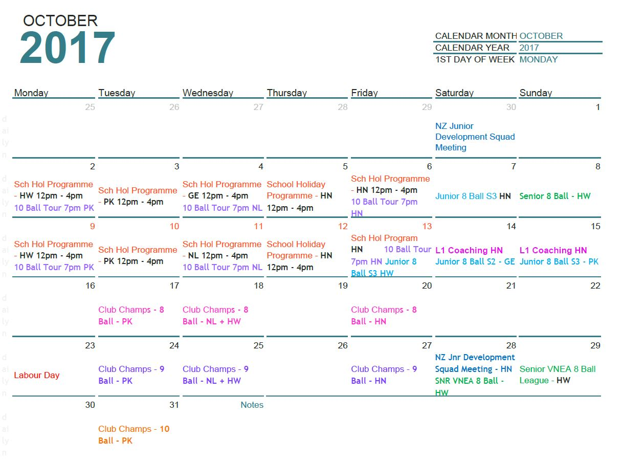 October 2017 updated