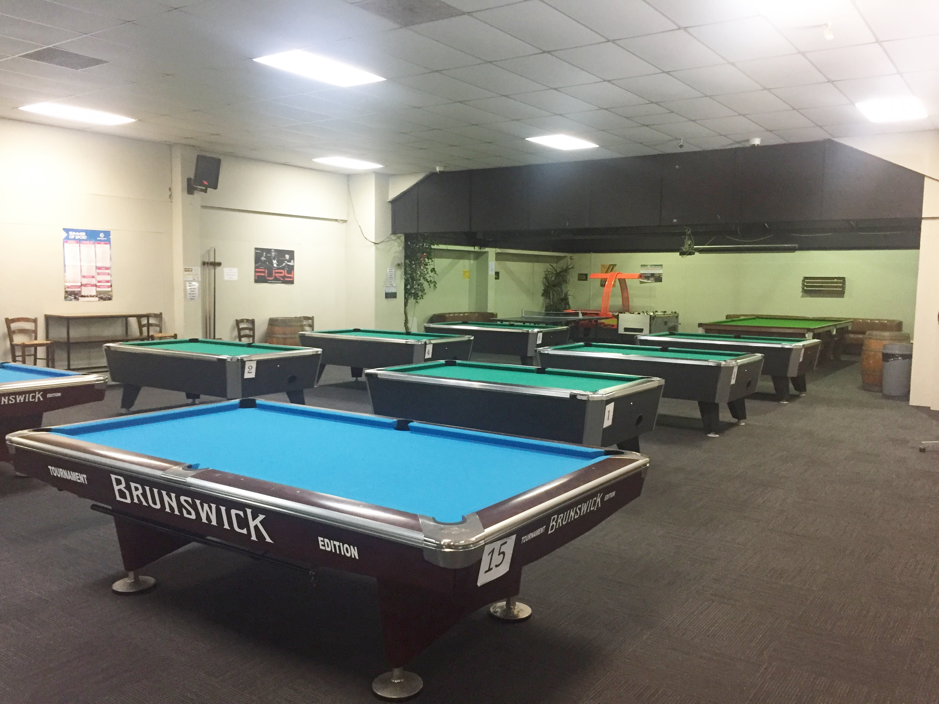 Pukekohe Masse - Masse pool table